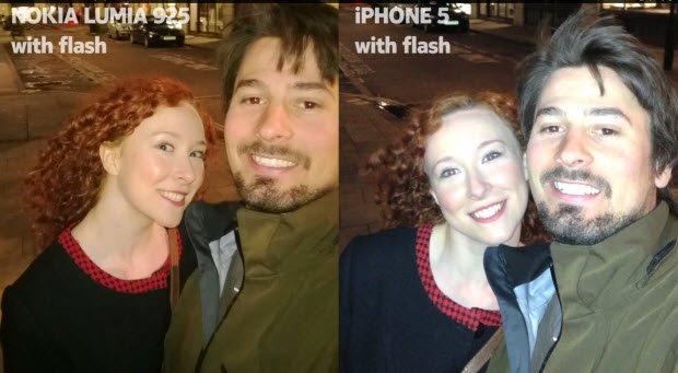 nokia lumia 925 iphone karşılaştırması