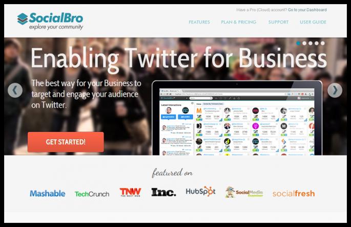 SocialBro sosyal medya araçları