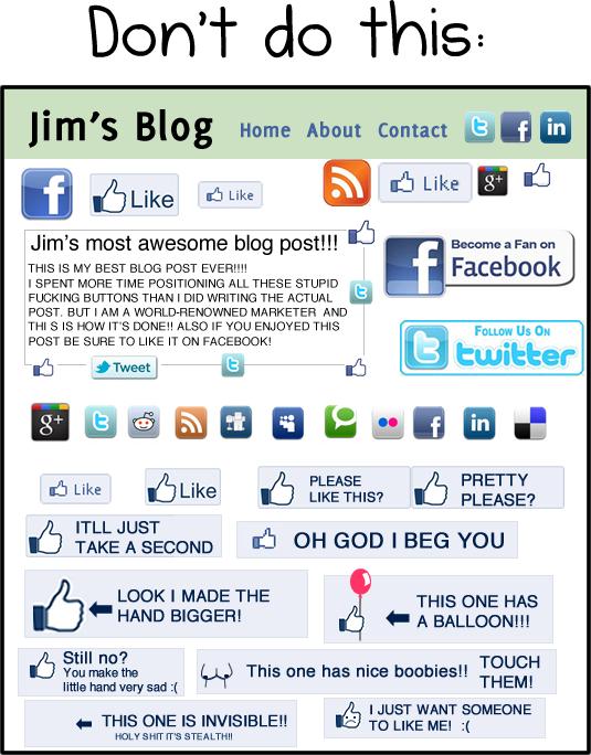 facebook beğeni butonu