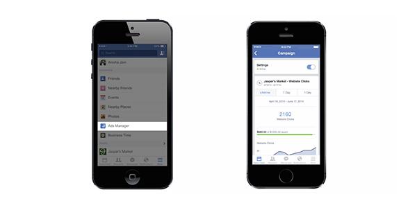 Facebook Reklamlar İçin Mobil Uygulama Geliştirdi